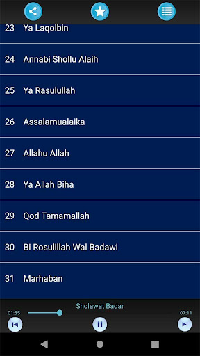 Sholawat Nabi MP3 Offline Lengkap 1.0 screenshots 2