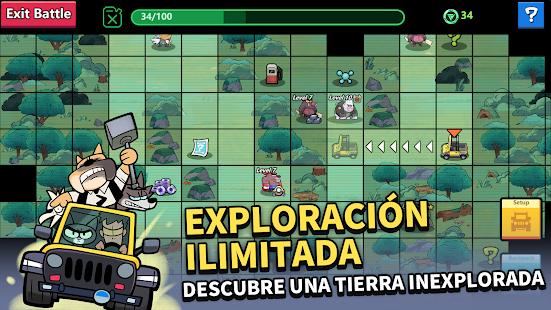 Schermata dell'avventura di Kumu