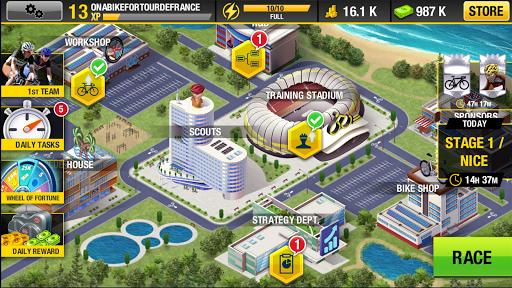 Tour de France 2021 Official Game - Sports Manager 1.6.7 screenshots 2