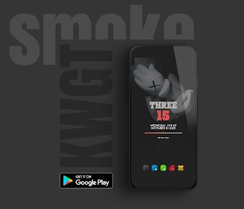 Smoke kwgt 2020 Apk 4