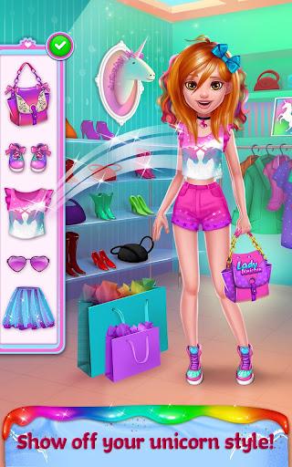 Unicorn Food - Rainbow Glitter Food & Fashion apkpoly screenshots 8