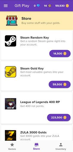 Gift Play - Free Game Codes 1.0.60 screenshots 2