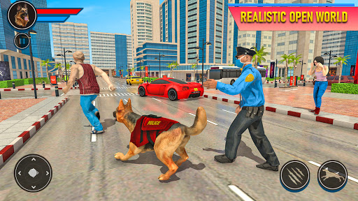 Police Dog Football Stadium Crime Chase Game  screenshots 13
