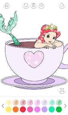 Mermaid Coloring Book Glitterのおすすめ画像4