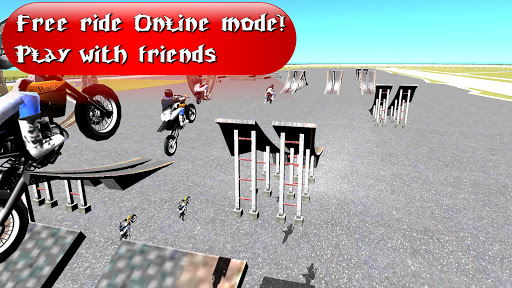 Wheelie King 4 - Online Getaway Wheelie bike 3D 1 screenshots 4