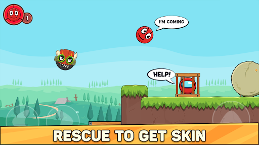 Bounce Ball 6: Red Bounce Ball Hero 5.2 Screenshots 2
