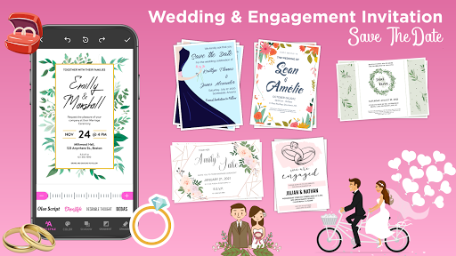 Invitation Maker Free - Birthday & Wedding Card