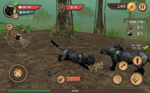 Wild Panther Sim 3D  screenshots 15