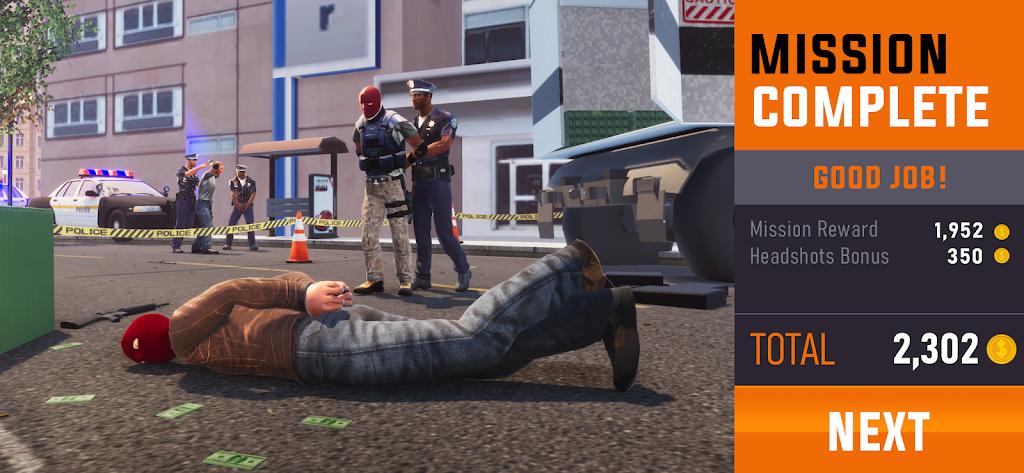 Sniper 3D: Fun Free Online FPS Shooting Game poster 2