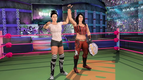 Bad Girls Wrestling Rumble: Women Fighting Games 4