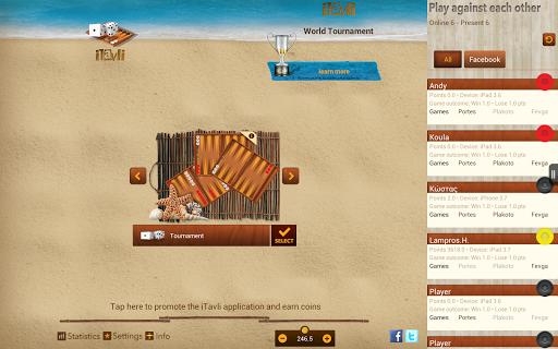 iTavli-All Backgammon games 5.2 screenshots 9