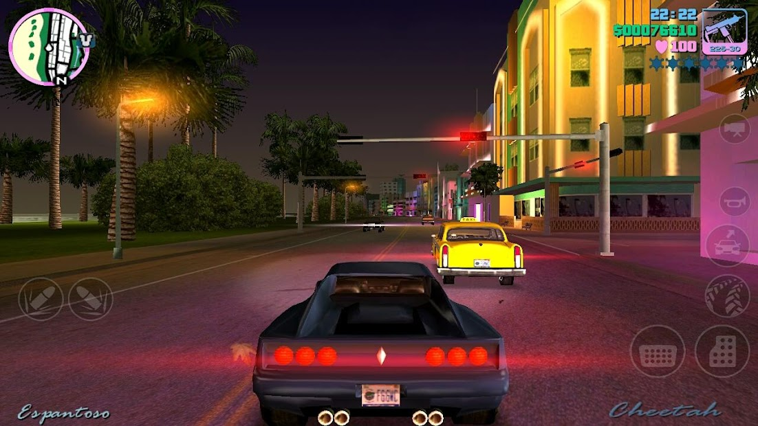 Grand Theft Auto: Vice City Android App Screenshot