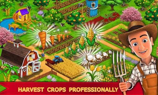 My Farm Town Village Life best Farm Offline Game Apk Download NEW 2021 4