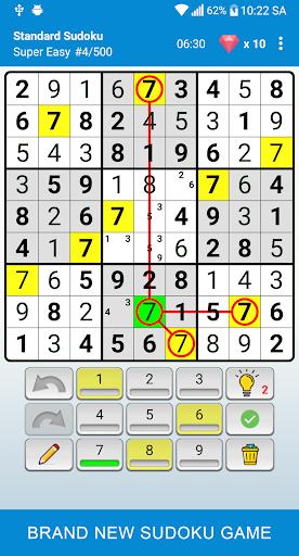 Sudoku - Classic Puzzle Game  screenshots 1