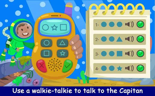 Kiddos under the Sea : Fun Early Learning Games 1.0.3 screenshots 6
