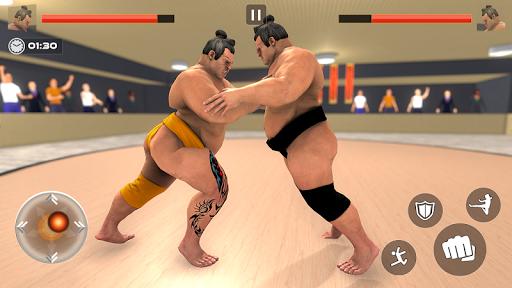 Télécharger Sumo Slammer Wrestling 2020: Sumotori Fight Games APK MOD (Astuce) screenshots 1