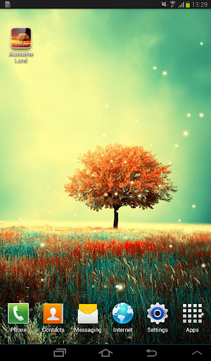 Awesome-Land Live wallpaper HD : Grow more trees screenshots 9
