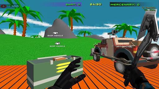 shooting combat swat  desert storm vehicle wars screenshot 3