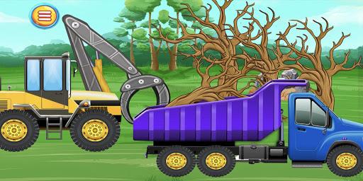 Construction Vehicles & Trucks - Games for Kids  Screenshots 5