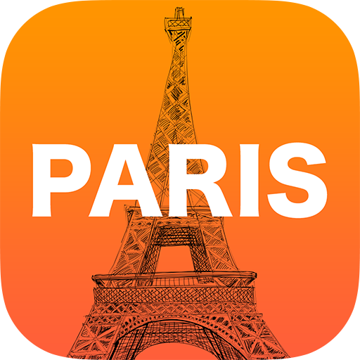 Paris City Map Guide Travel