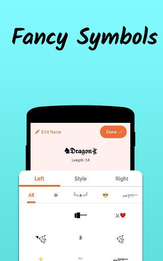 Nickname Fire ud83dudd25 : Free Nickfinder App ud83dudc8e android2mod screenshots 3