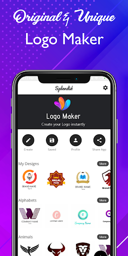 Logo maker 2021 3D logo designer, Logo Creator app 1.23 Screenshots 2