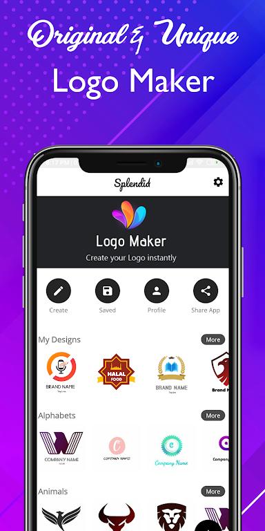 Logo maker 2020 3D logo designer, Logo Creator app – Apps on Google Play poster 1