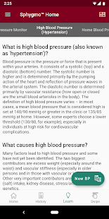 Sphygmo Blood Pressure & Blood Glucose Screenshot