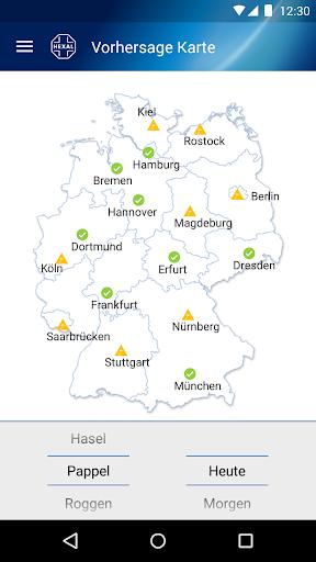 Pollenflug-Vorhersage  screenshots 1