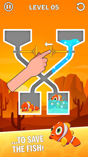 Water Puzzle - Fish Rescue & Pull The Pin 1.0.22 Screenshots 2