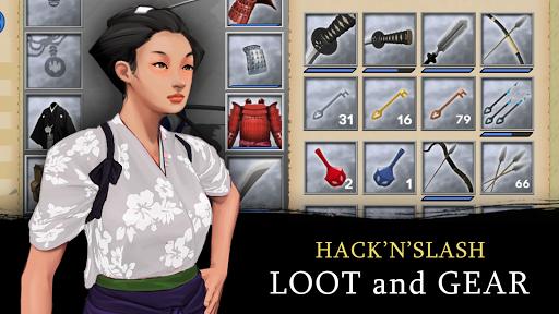 Bushido Saga - Nightmare of the Samurai apkpoly screenshots 6