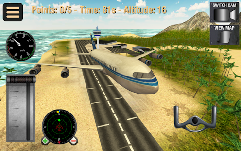 Simulador vuelo Screenshot