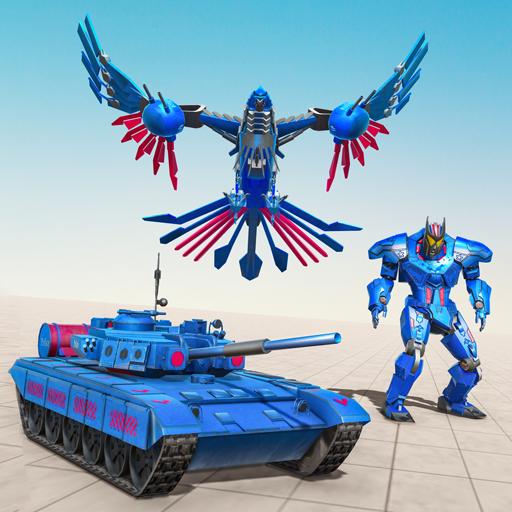 Game robot tank - game mobil robot elang polisi