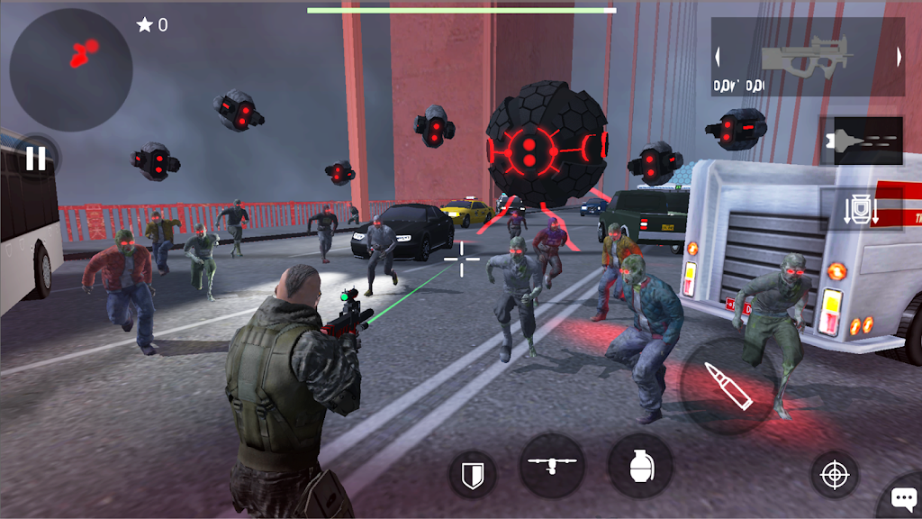 Earth Protect Squad: Third Person Shooting Game  poster 1