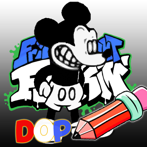 FNF Suicide Mouse Mod: Draw One Part
