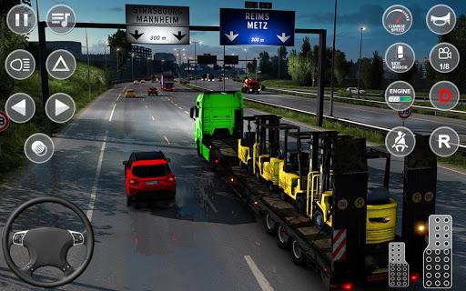 Euro Truck Transport Simulator 2: Cargo Truck Game android2mod screenshots 15