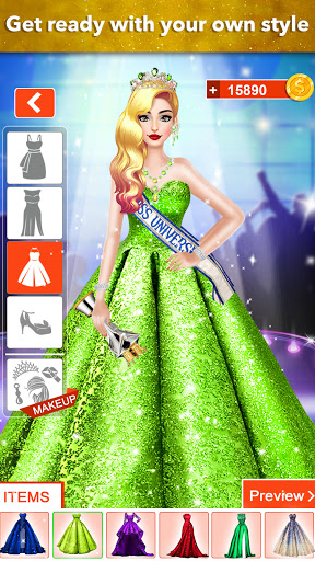 Fashion Girls Makeover Stylist - Dress up Games 0.7 screenshots 2