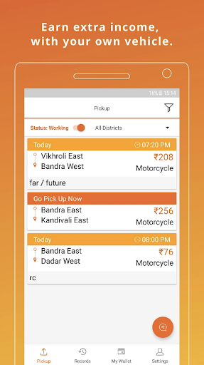 Drive with Lalamove India - Earn Extra Income 103.6.0 Screenshots 2