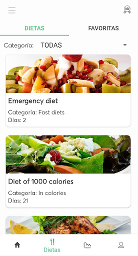 Foto do Diets for losing weight