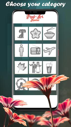 Pixel Art Master, coloring fun apkpoly screenshots 3