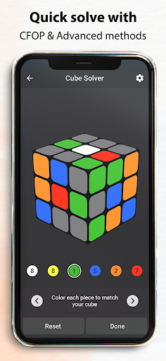 Rubik's Cube : Simulator, Cube Solver and Timer 1.0.4 screenshots 5