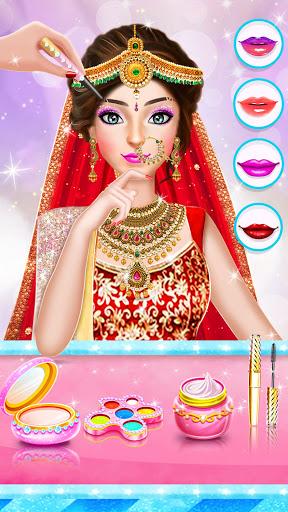 Indian Wedding Stylist - Makeup &  Dress up Games 0.17 screenshots 6