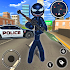 Spider Stickman Rope Hero - Black Hero Vice Town