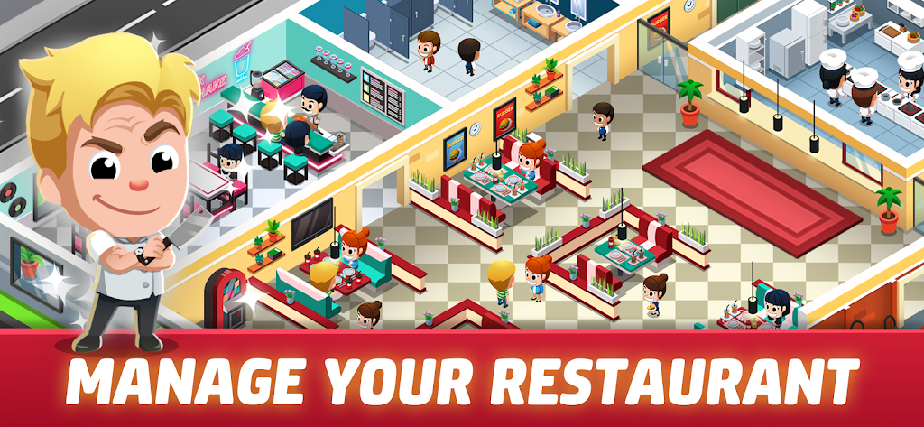 Idle Restaurant Tycoon - Cooking Restaurant Empire  poster 1