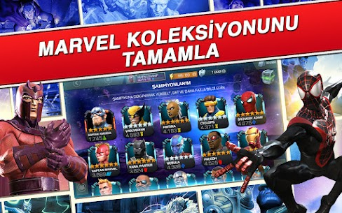 Marvel Şampiyonlar Turnuvası Hileli Apk Güncel 2021** 3