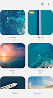 screenshot of Samsung Video Library