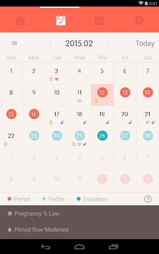 Once -A special period tracker apktram screenshots 10