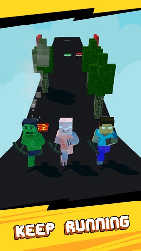 Craft Runner - Miner Rush: Building and Crafting  screenshots 8