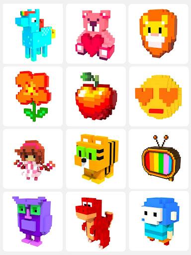 Number Coloring u2013 3D No.Draw screenshots 14