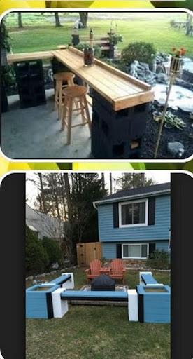 cinder block bench  Screenshots 3